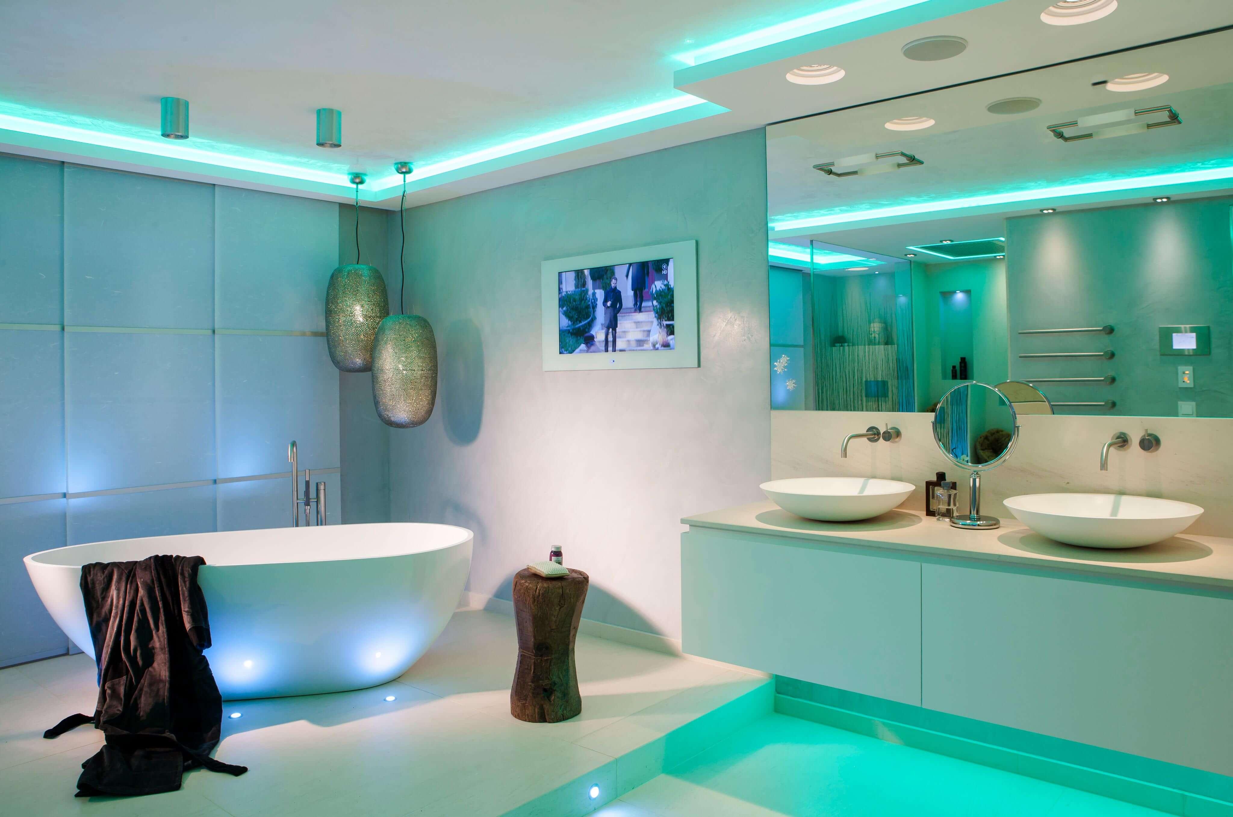 alexa f r ein barrierefreies bad smart home im praxistest. Black Bedroom Furniture Sets. Home Design Ideas