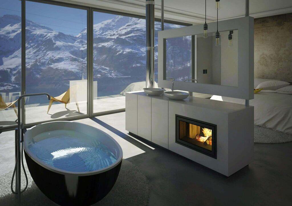 Baddesign und Schlafzimmer vereint geht das? Tipps wie es geht !
