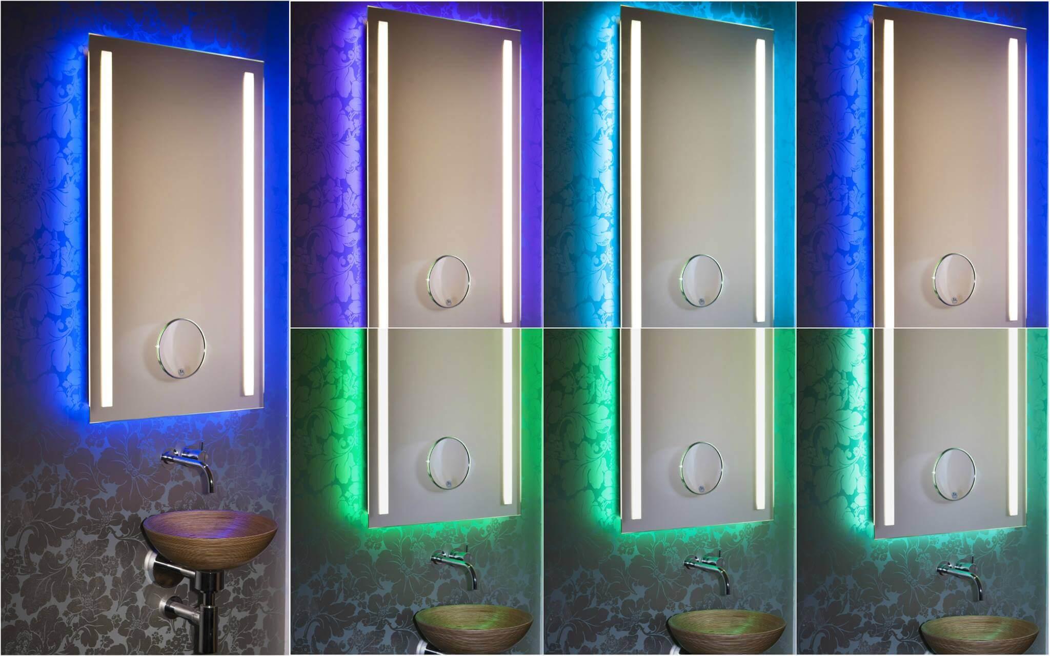 Spiegel und Lichtdesign wird neu definiert.