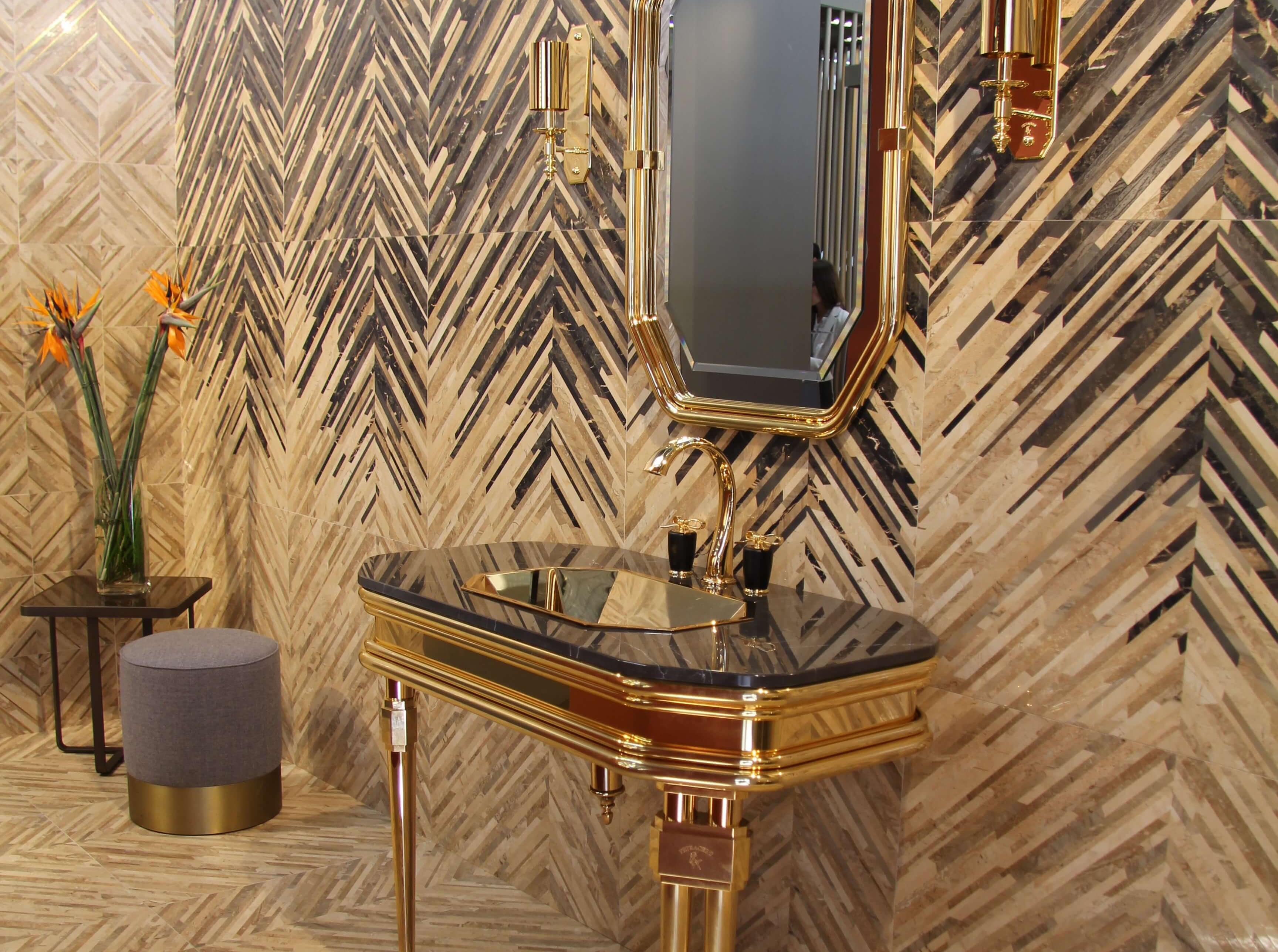 cersaie 2018 last news trends und impressionen. Black Bedroom Furniture Sets. Home Design Ideas