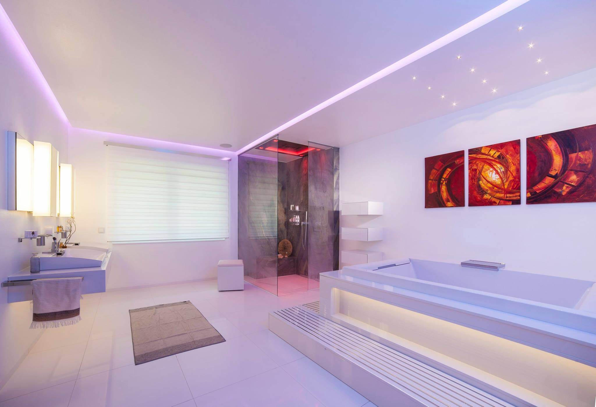 Haus zum Traeumen Design by Torsten Mueller aus Bad Honnef naehe Koeln Bonn Duesseldorf Inspiration Lichtdesign Spa Badezimmer Badarchitektur Luxusbad Traumbad exklusives Baddesign