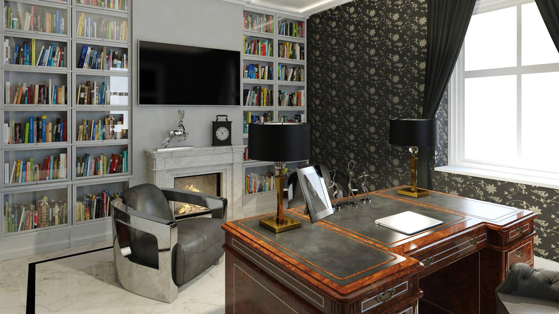 Herrenzimmer - Die Residenz des stilvollen Gentleman ...