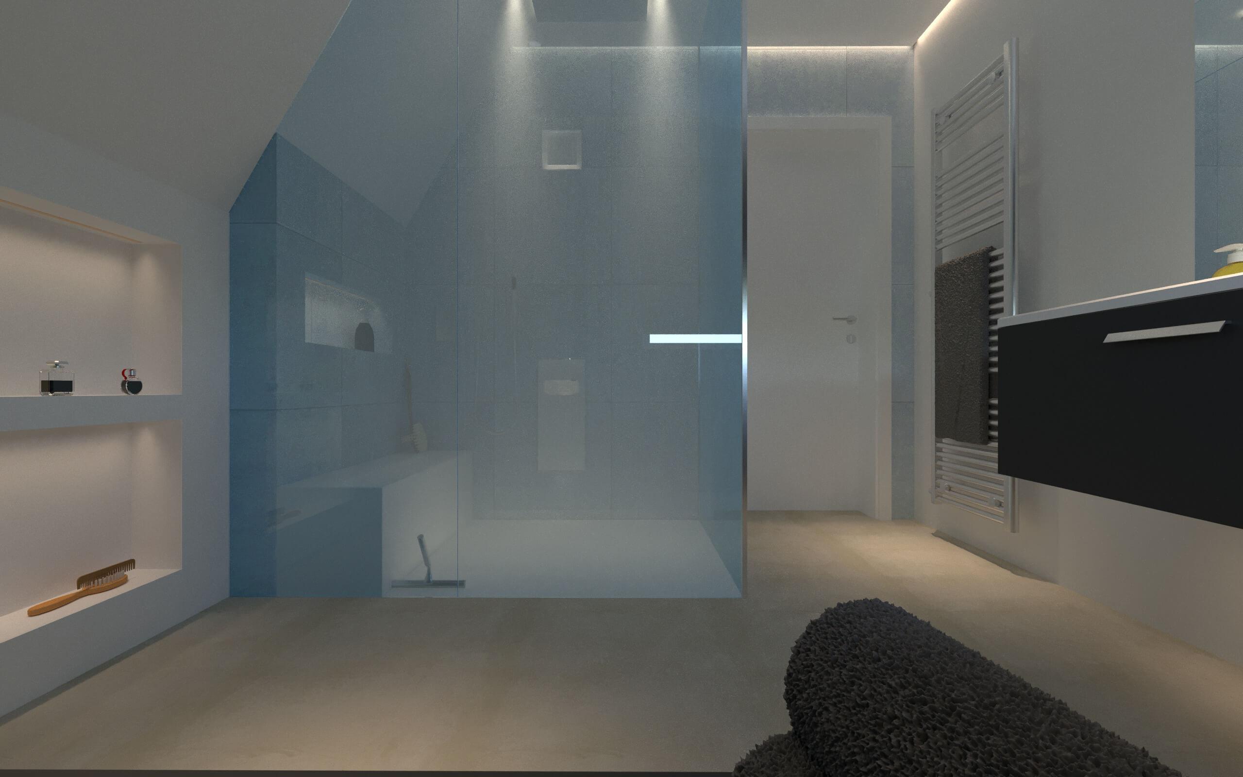 Tipps für die exklusive Badplanung hier für eine Damopfdusche im Baddesign mit dem Designer Torsten Müller Bad Honnef Bonn Köln 3D Artist Franz Lorenz Wagner Stuttgart 2019