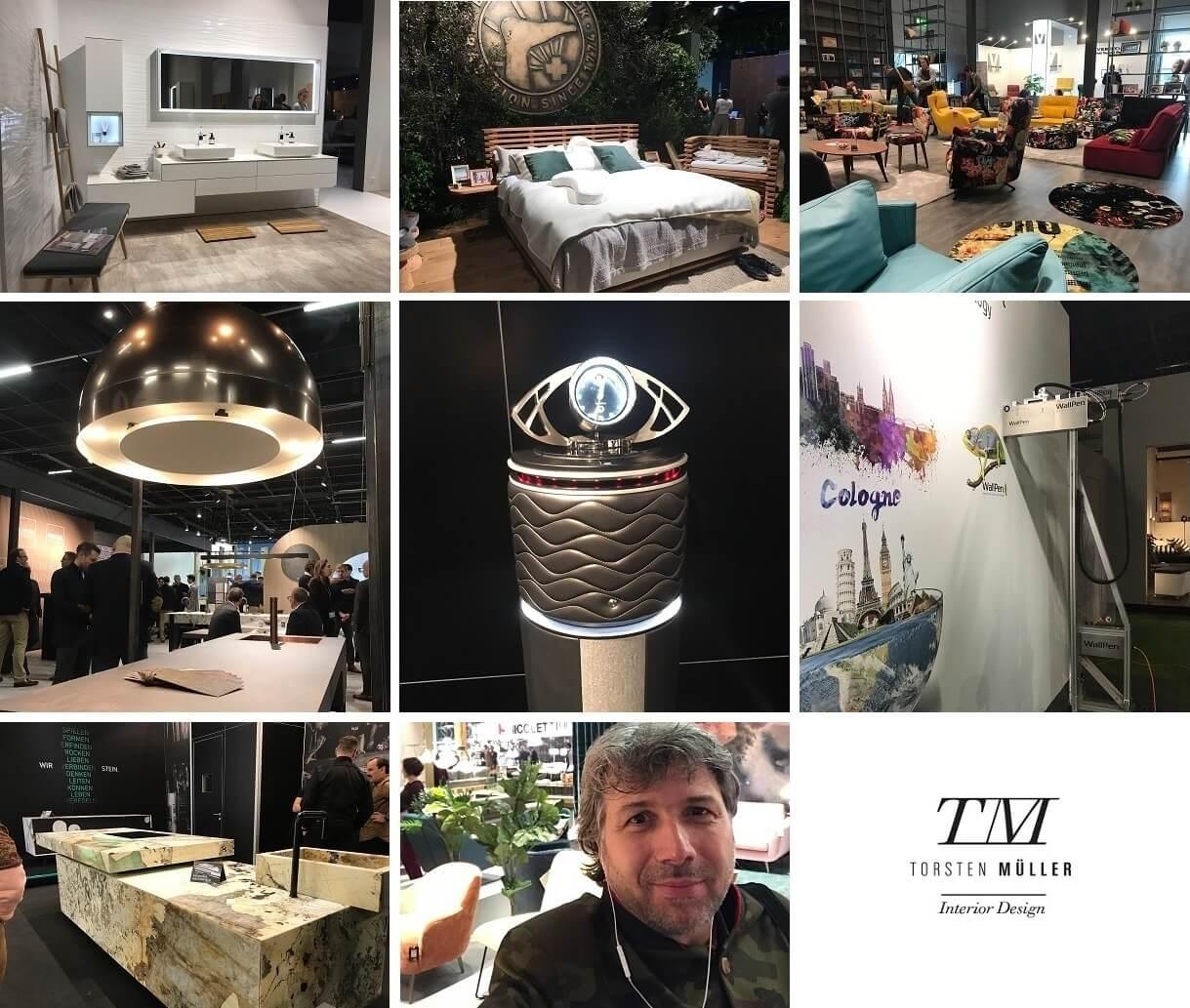 Der bekannte Trend-Scout und renommierte Bad-, Spa- und Interior-Designer Torsten Müller war am ersten Messetag für einen Trendcheck der neuen Interior-Designs in Köln vor Ort und hat folgende Highlights entdeckt.