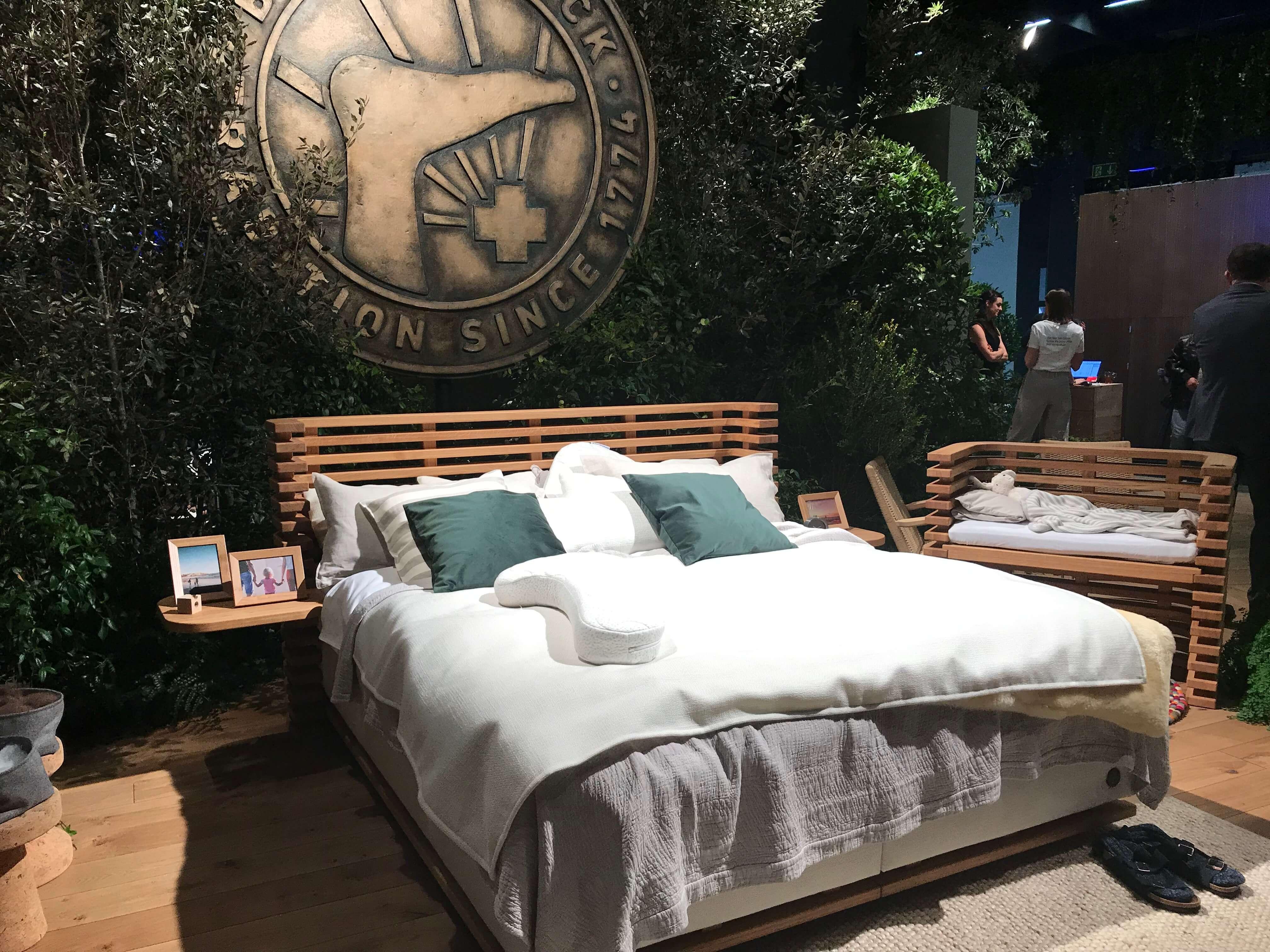 82e6e2e4b3ed Birkenstock - wohlig natürliches Design für das Schlafzimmer Birkenstock  hat vor zwei Jahren sein Schuhkonzept auf