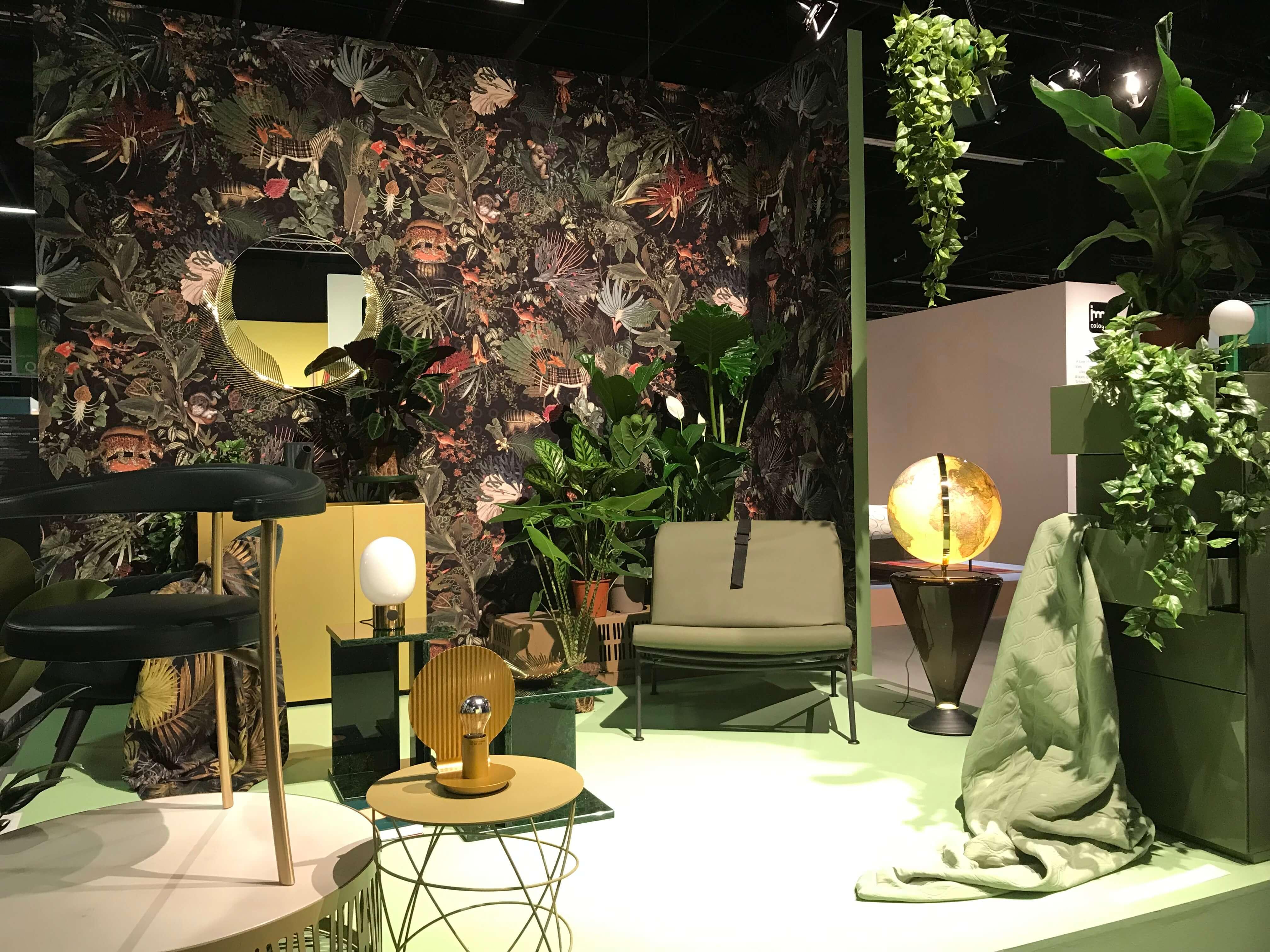 """Das Thema """"Natur"""" stand auch dieses Jahr im Fokus vieler Präsentationen auf der IMM Cologne 2019"""