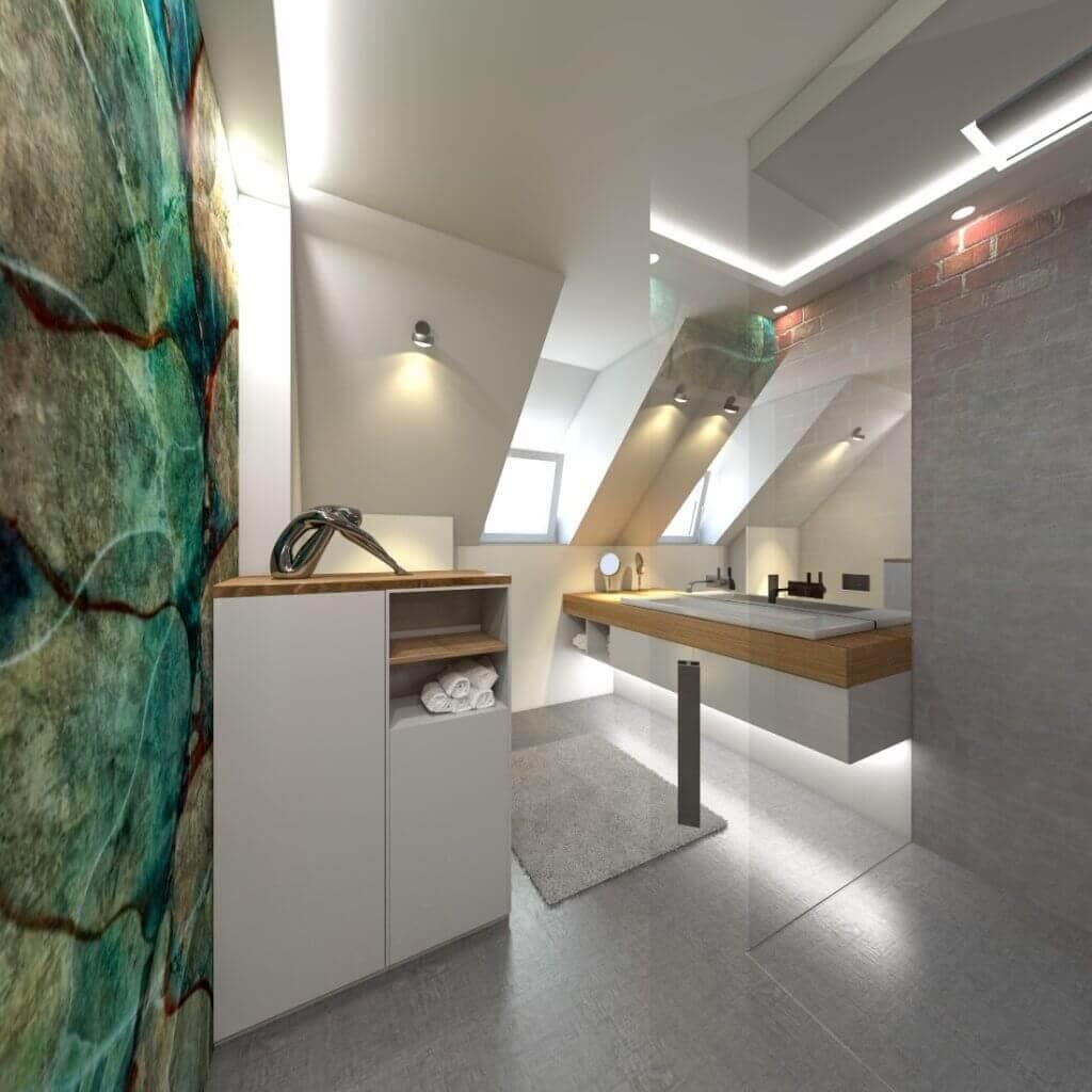 Berühmt Tipps vom Designer: Badezimmer vergrößern mit dem Bodenbelag SP37