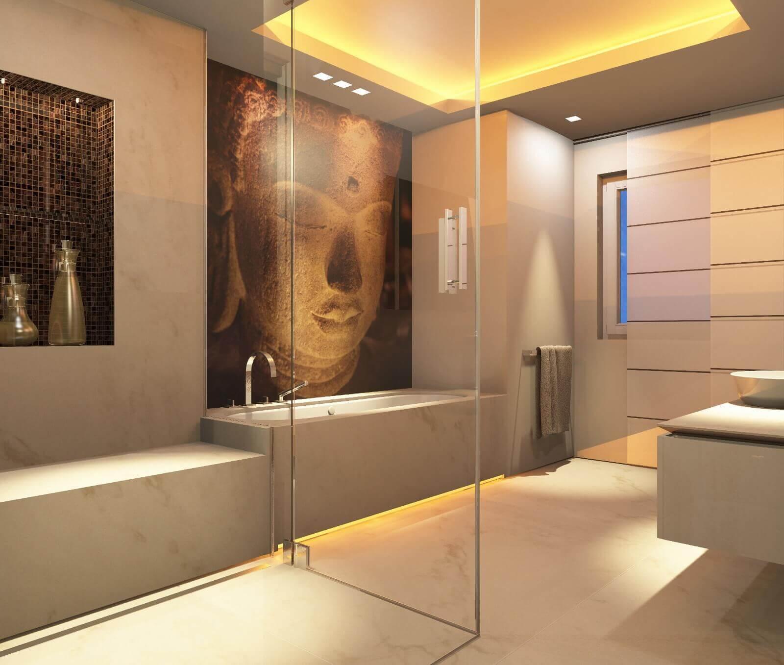 Favorit Tipps vom Designer: Badezimmer vergrößern mit dem Bodenbelag SL09