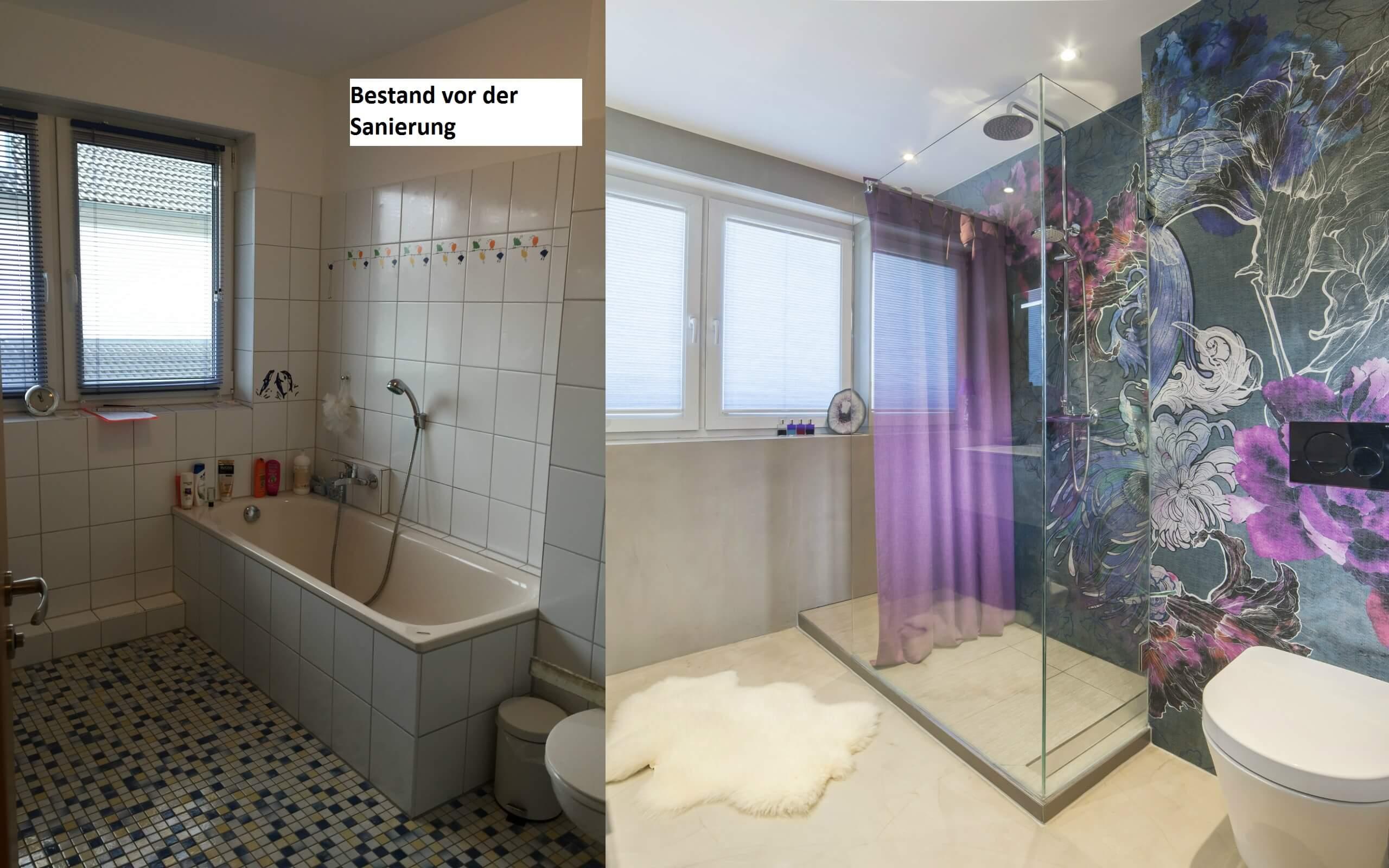 Oftmals braucht es nicht viel, um ein kleines 08/15 Badezimmer in eine stilvolle Entspannungsoase zu verwandeln