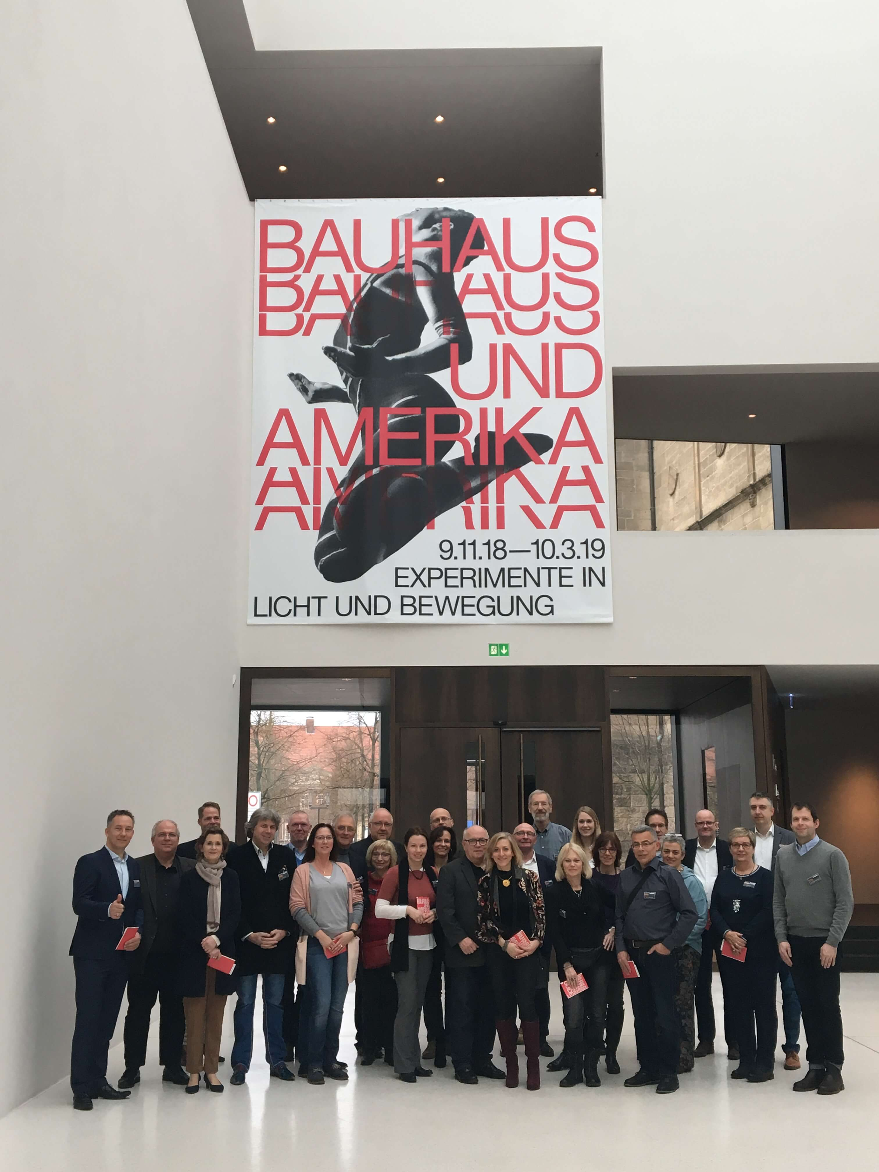 Gruppenbild 100 Jahre Bauhaus zur Architektenveranstaltung der Firma Kaldewei