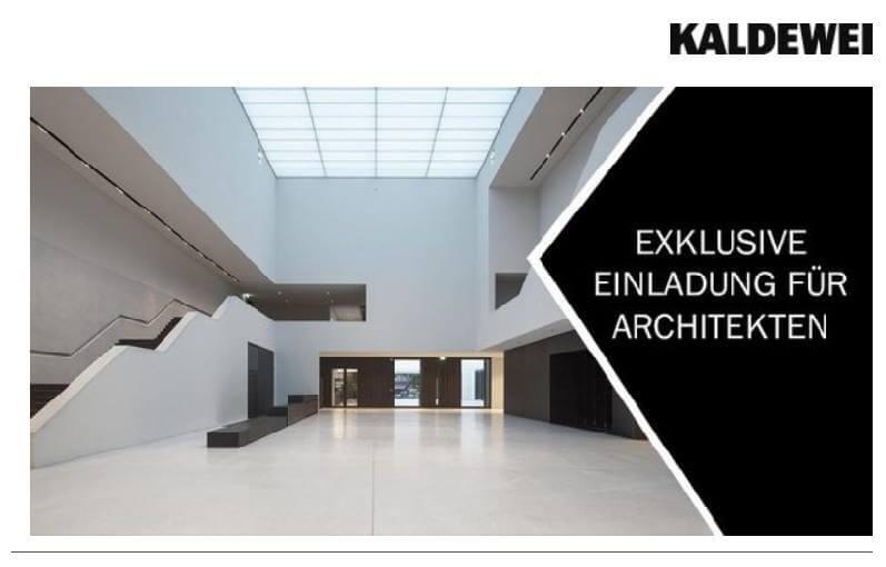 Kaldewei 2019 Megatrends im Bad Architektenveranstaltung Bauhaus LWL-Museum Münster