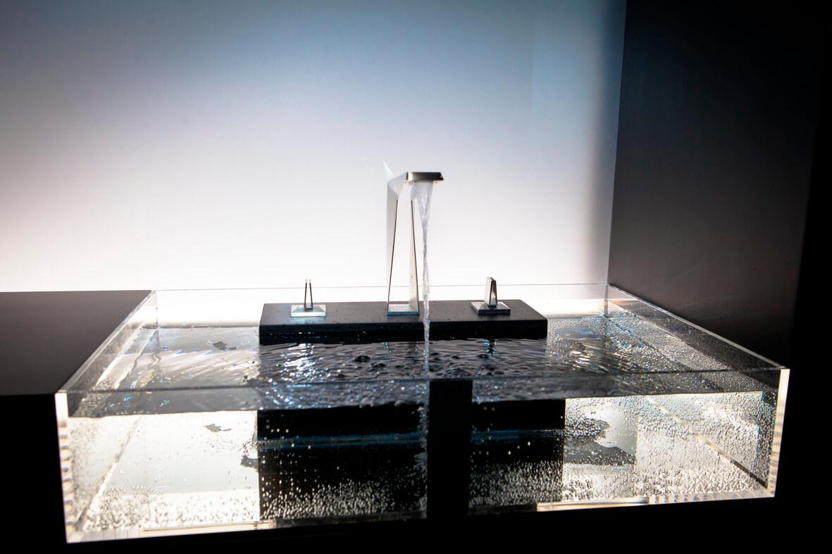 Grohe 3D Armatur für 12.000 Euro. Die Zukunft wie das Wasser fließt.