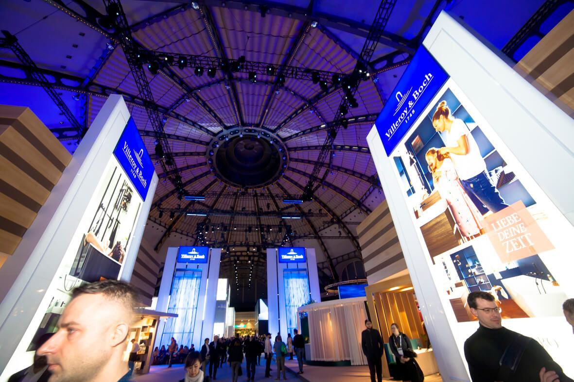 Villeroy & Boch Messe auf der ISH 2019 ISH 2019 Trends Designer Torsten Müller Bad Honnef Baddesign Badatrchitektur News