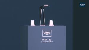 Luxus Grohe 3D Druck Armatur für 12.000 € Verkauf Beratung Planung Designer Torsten Müller Bad Honnef Köln Bonn