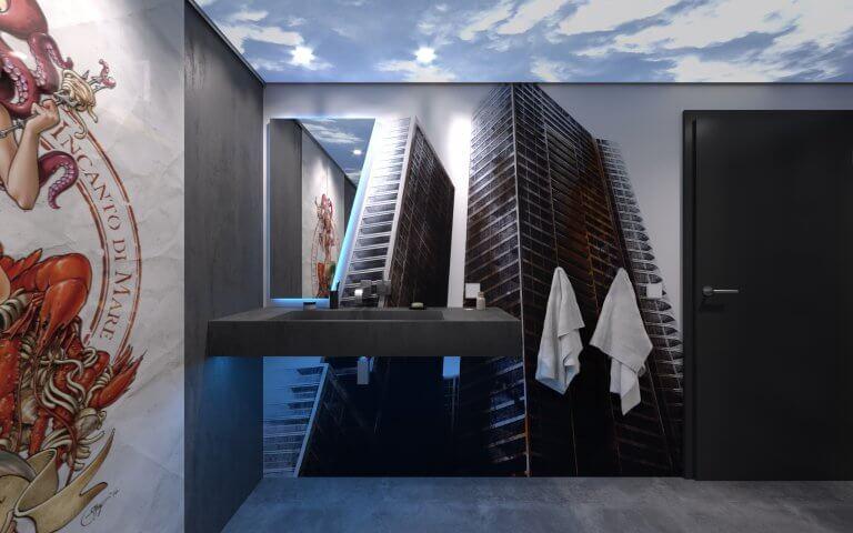 Badezimmer Tapeten Design by Torsten Müller Designer Cologne Bad Honnef Bonn
