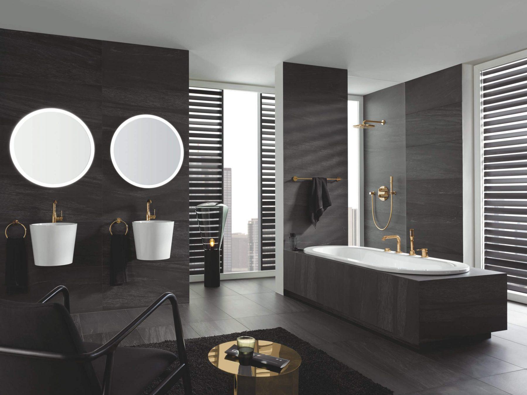 Badtrend Grau – Warum dunkle Farben für das Badezimmer perfekt sind