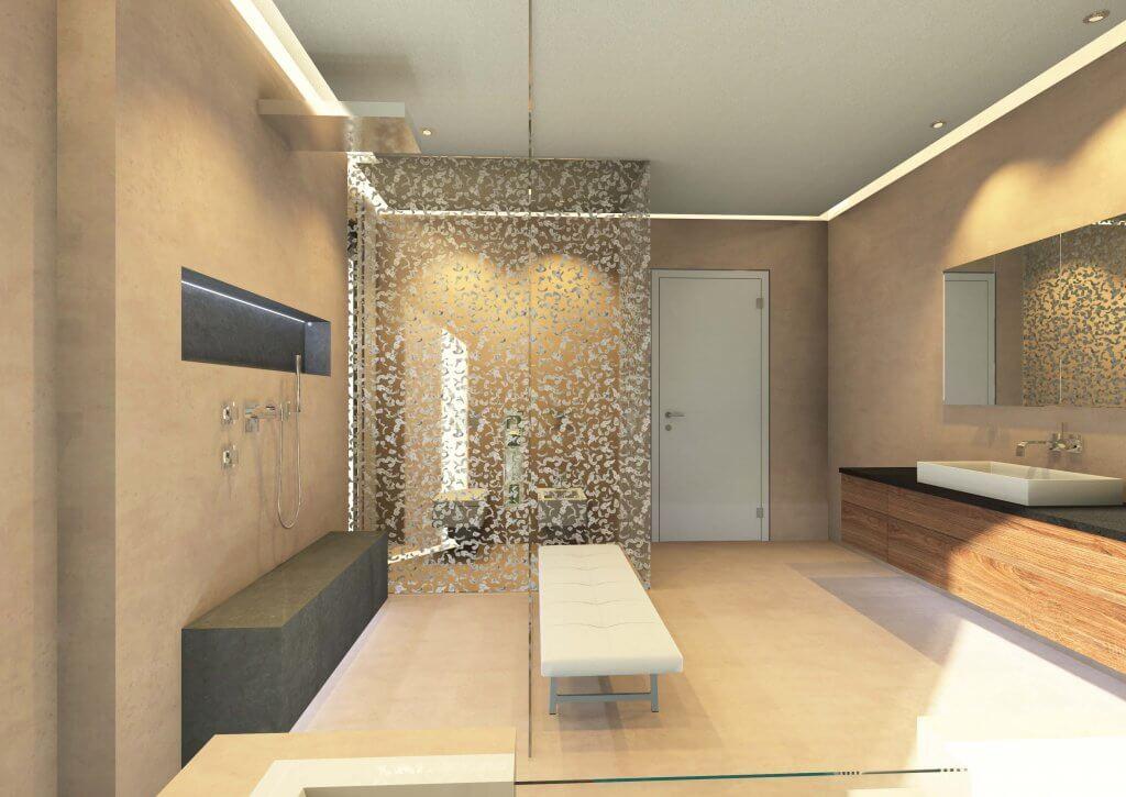 designer badezimmer stil im bad aus professioneller hand