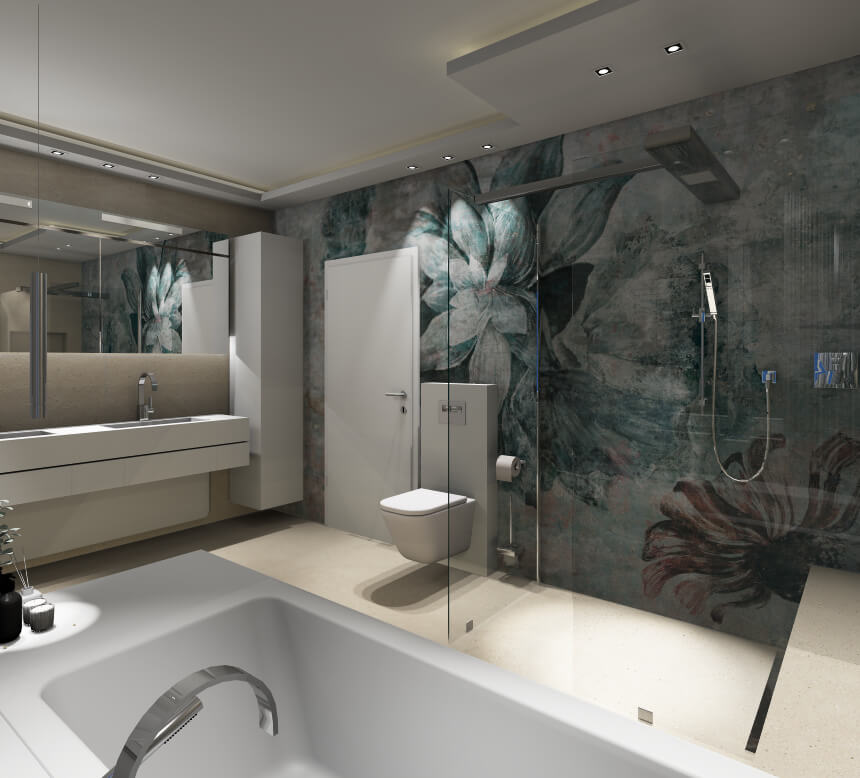 Wall and Deco wet system