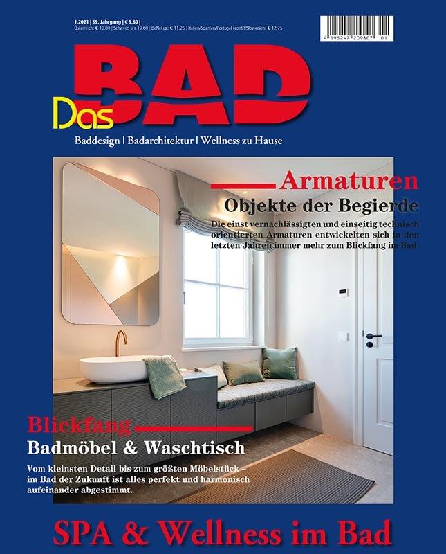 Torsten Müller der Designer im Magazin dasBad