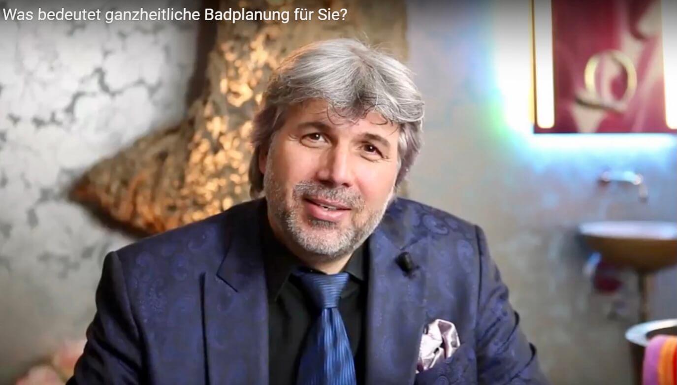 Designer Torsten Müller aus Bad Honnef zur ISH digital 2021